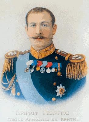 Príncipe JORGE DE GRECIA (y Dinamarca) Prigipas