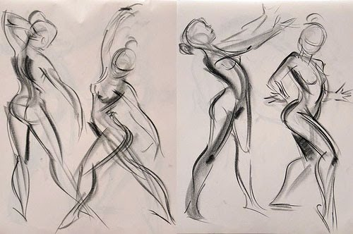 Contour Line Drawing Of A Person : Tips on how to draw human figure and other things foreshortened