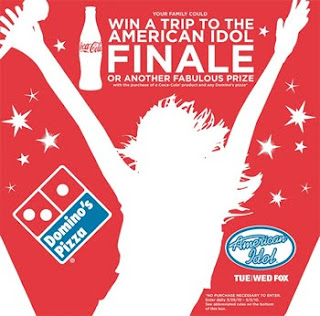 Domino's Pizza American Idol Sweepstakes