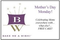Bake Me a Wish Mother's Day Monday