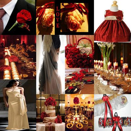 Wedding Wednesdays A Red Hot Wedding