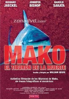 Mako, el tiburón de la muerte dirigida por William Grefe