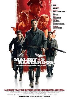 Malditos Bastardos dirigida por Quentin Tarantino