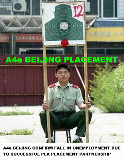 A4e  Beijing  Placement  News