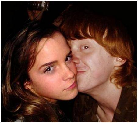 Hermione Granger And Ron Weasley Kissing | www.pixshark ...