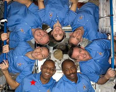 International Space Station Crew + STS-129