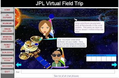 Virtual Field Trip JPL