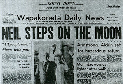 Neil Armstrong's Hometown Newspaper