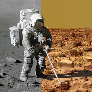 Moon vs. Mars