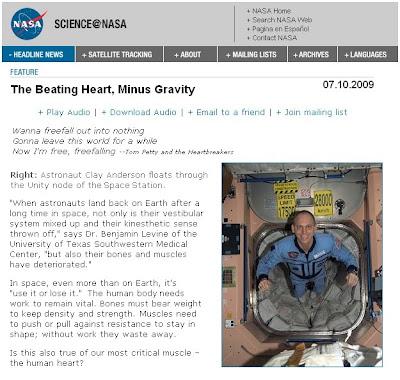 NASA Cardio Study