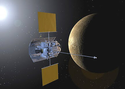 NASA Messenger Probe to Mercury