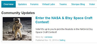 Etsy and NASA Contest