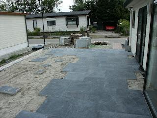 Mijn vakantiehuis is een chalet aanleg terras - Hoe dicht terras ...