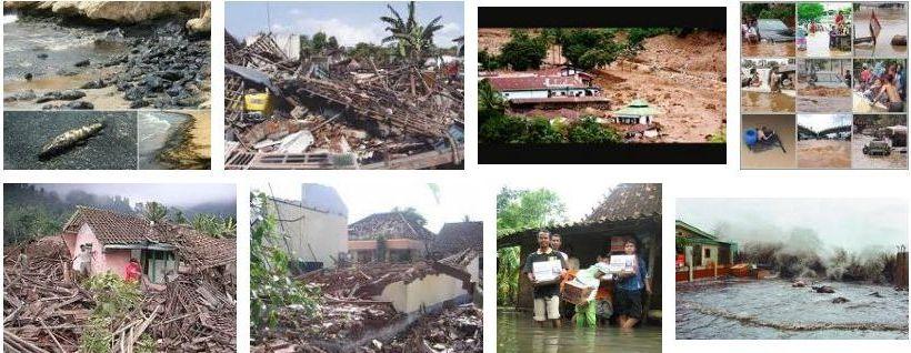 photo dan gambar bencana alam: banjir,tsunami,gunung meletus,gempa
