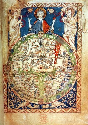 Ancient World Maps: World Map 13th Century