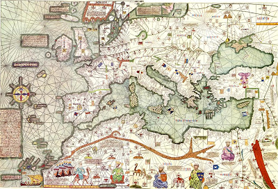 Ancient World Maps: World Map 14th Century