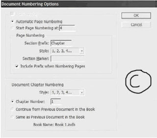 how to add page numbering to a book in indesign