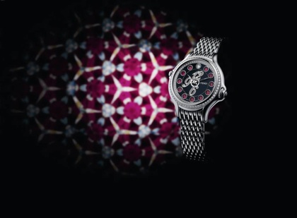 Fendi has debuted its Crazy Carats timepiece which boasts a patented ...