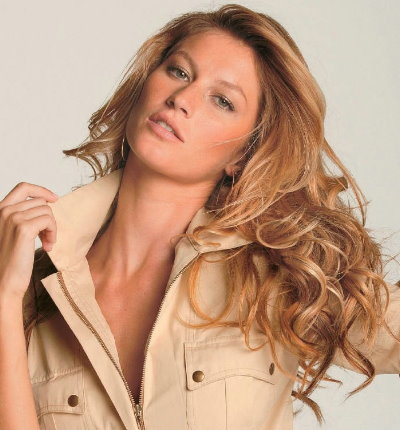 Top fashion Models, Gisele Bündchen