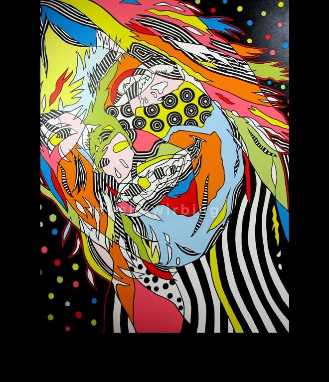 acrylic on canvas 150cm X 200cm
