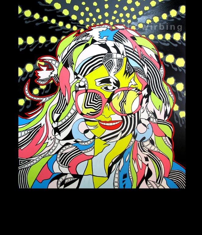 acrylic on canvas 150cm X 170cm (c)