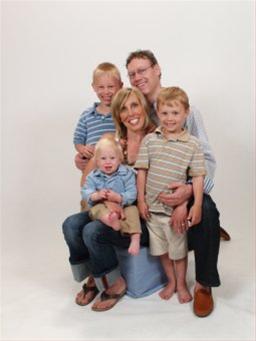 1 mommy, 1 daddy, and boys, boys, boys!
