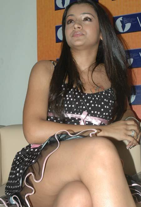 Trisha Hot & Milky Thighs