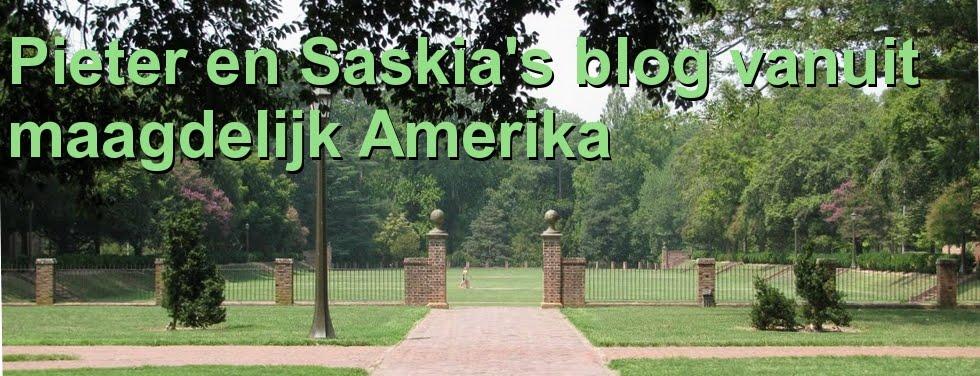 Pieter en Saskia's blog vanuit maagdelijk Amerika