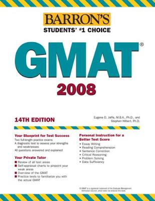 barrons GMAT 2008