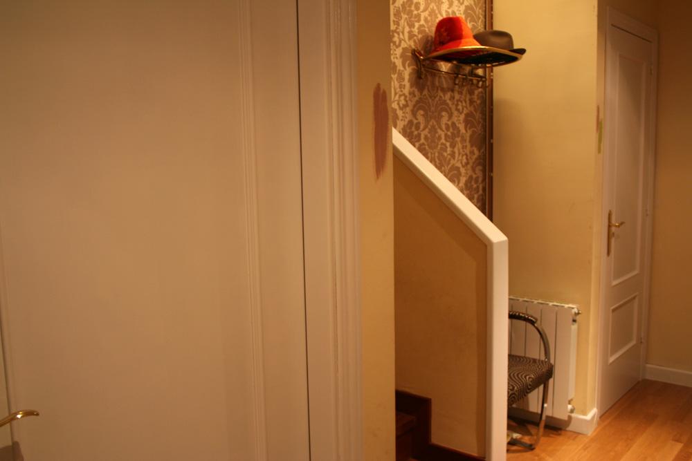 Ideas para decorar habitacion - Puertas blancas lacadas o pintadas ...
