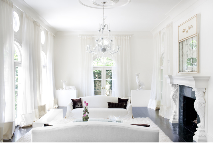 Salones blancos white livingrooms vintage chic - Blog decoracion salones ...