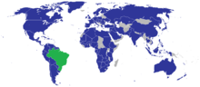 BRASIL - Localização geográfica
