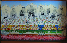 Tour de France Mural for Carmichael Training Systems