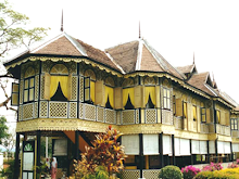 Istana Kenangan, Istana Lembah atau Istana Tepas,k.kangsar 1926