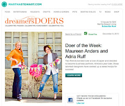 Martha Stewart's Doer of the Week Feature!