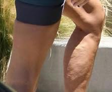 Gambe di Victoria Adams