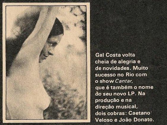 Gal Costa Cantar