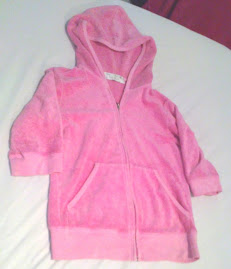 Juicy Couture velour tracksuit top