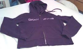 DKNY zip up hoodie