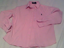 Ralph Lauren Polo Pink shirt Worth £80
