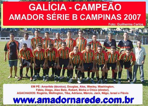 *CAMPEÃO CAMPINEIRO 2007 - SÉRIE PRATA