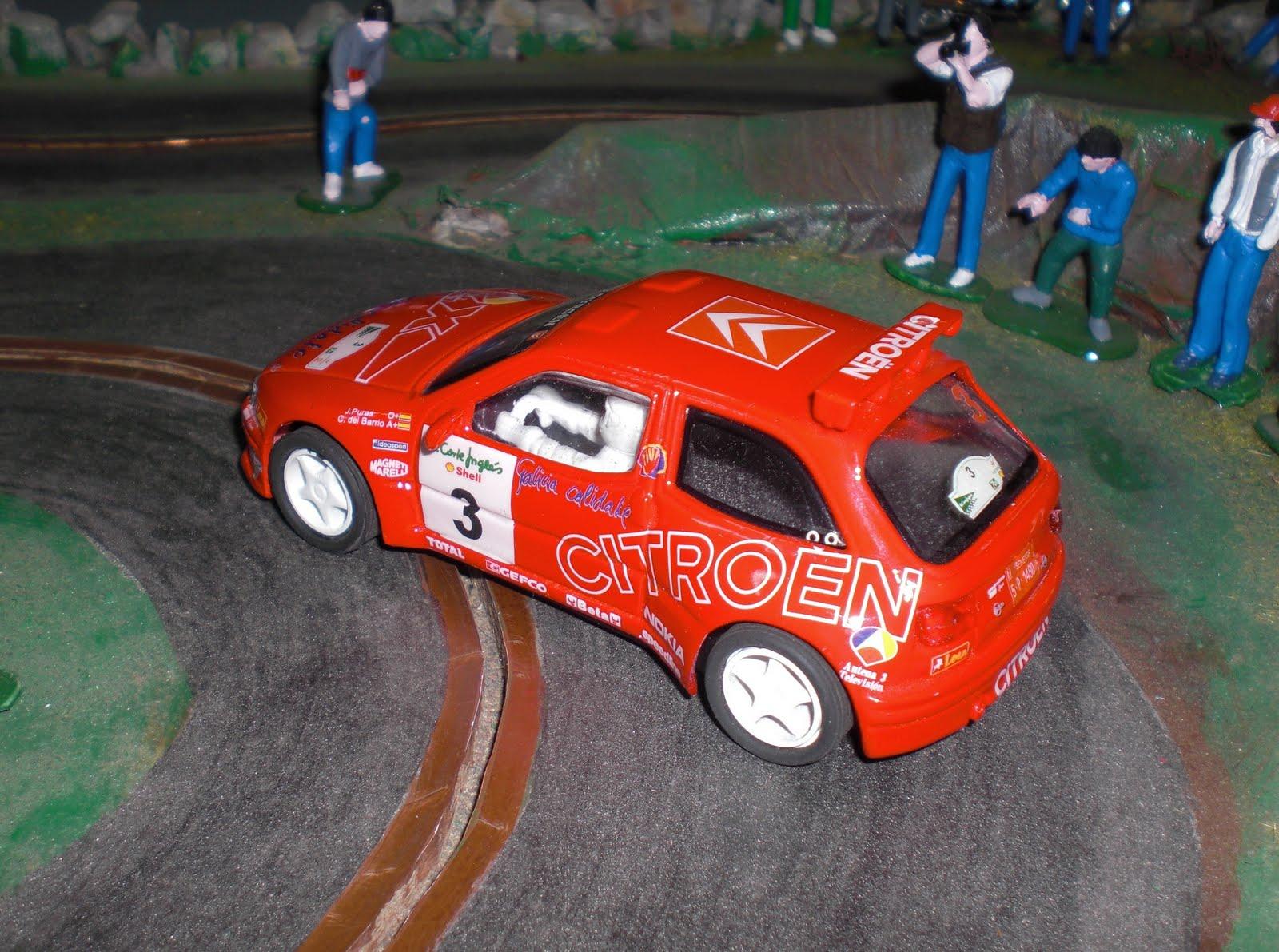 Citroen Zx Kit Car Team Slot