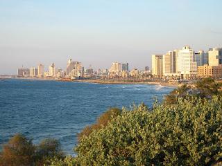 Beautiful view of Tel Aviv