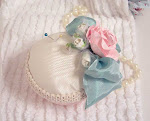 So Shabby Pink Pin Cushion