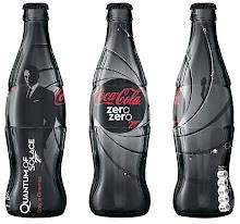 Coca Cola Zero en edición limitada promociona Quantum of Solace