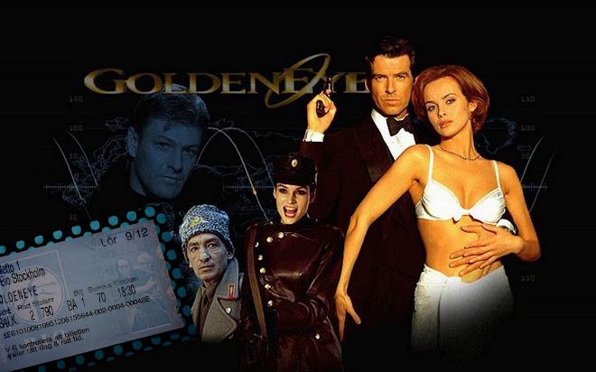 """Hace 20 años, en 1995, en el estreno de """"Goldeneye"""" primera película de Pierce Brosnan como 007..."""