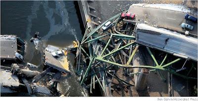 Ponte 35W (Foto: New York Times)