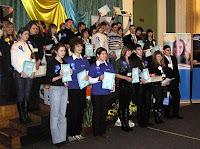 Коллективная фотография призеров национального этапа конкурса