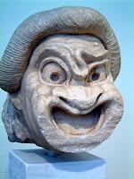 Театральные маски тоже выставляют в музеях
