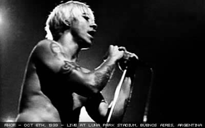 Red Hot Chili Peppers Argenfornication Liberated Bootleg
